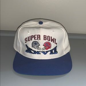 Cowboys vs Bills super bowl hat